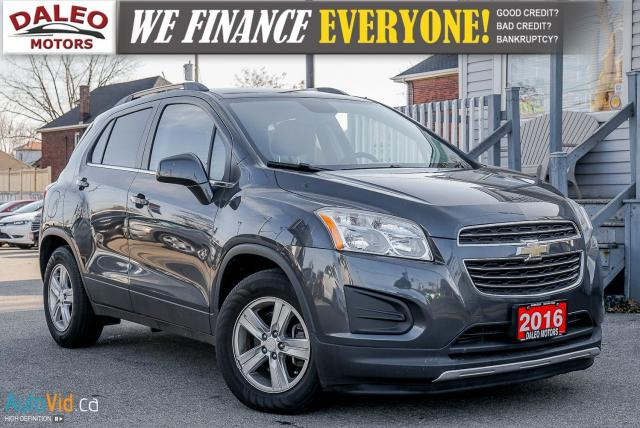 2016 Chevrolet Trax LT / ONE OWNER / BACKUP CAM / SIRIUS
