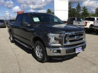 Used 2015 Ford F-150 XLT | 4WD | Bluetooth for sale in Harriston, ON