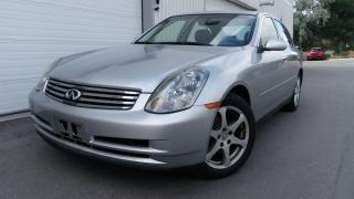 Used 2004 Infiniti G35 Luxury for sale in Toronto, ON