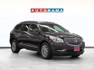 Used 2016 Buick Enclave Premium 4WD Nav Leather PSunroof Bcam 7Pass for sale in Toronto, ON