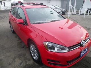 Used 2016 Volkswagen Golf Wagon Trendline with snows for sale in Fort Erie, ON