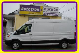 Used 2015 Ford Transit 250 LONG, MID ROOF, Cruise, Divider, Hitch for sale in Woodbridge, ON