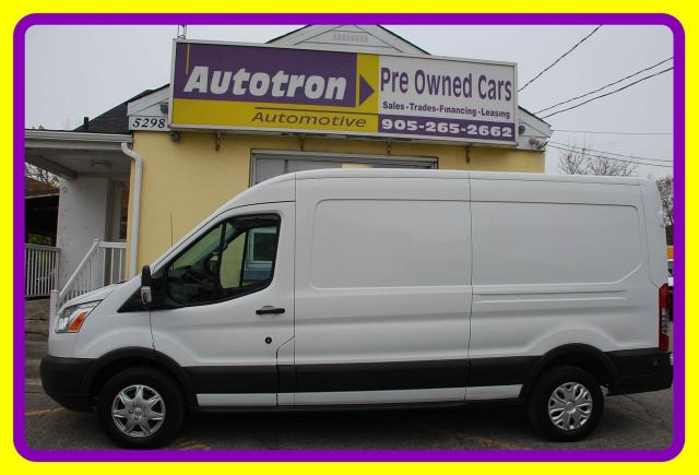 2015 Ford Transit 250 LONG, MID ROOF, Cruise, Divider, Hitch