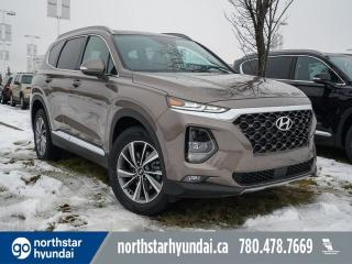 Used 2020 Hyundai Santa Fe PREF SUN & LEATHER PKG: HEATED SEATS AND STEERING/PROXY KEY/BACK UP CAM for sale in Edmonton, AB
