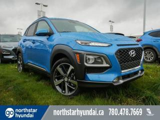 New 2020 Hyundai KONA ULTIMATE:HEADS UP DISPLAY/WIRELESS CHARGING/NAV/BLUELINK for sale in Edmonton, AB