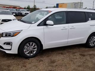 New 2020 Kia Sedona LX; 8PASS, BLUETOOTH, BACKUP CAM, HEATED SEATS AND MORE for sale in Edmonton, AB
