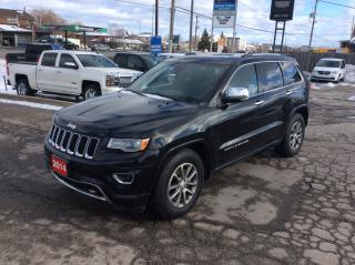 Used 2014 Jeep Grand Cherokee Overland - Leather Seats - $259 B/W for sale in Bolton, ON
