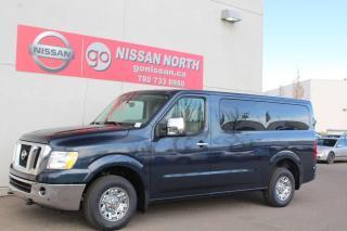 New 2020 Nissan NV Passenger NV3500 HD SL/LEATHER/BACKUP CAM for sale in Edmonton, AB