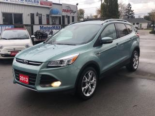 Used 2013 Ford Escape Titanium- AWD- ACCIDENT FREE- WE FINANCE for sale in Stoney Creek, ON