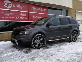Used 2015 Dodge Journey Crossroad / Garmin Navigation / Back Up Camera for sale in Edmonton, AB