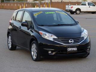 Used 2014 Nissan Versa Note NAVIGATION,REAR-CAM,BLUETOOTH,HEATD SEATS,FULL OPT for sale in Mississauga, ON