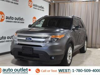 Used 2011 Ford Explorer Xlt, 3.5L V6, 4wd, Third row 7 passenger seating, Navigation, Heated leather seats, Backup camera, Bluetooth for sale in Edmonton, AB