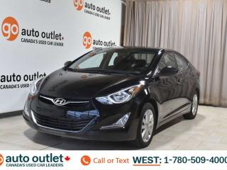 Used 2016 Hyundai Elantra Sport Appearance, 1.8L I4, Fwd, Heated cloth seats, Backup camera, Bluetooth for sale in Edmonton, AB
