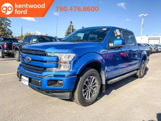 New 2019 Ford F-150 LARIAT 502A, 4X4 Supercrew, 2.7L Ecoboost, Auto Start/Stop, Heated Seats, Heated Steering Wheel, Pre-Collision Assist, Remote Keyless Entry, Reverse Camera System, Navigation for sale in Edmonton, AB