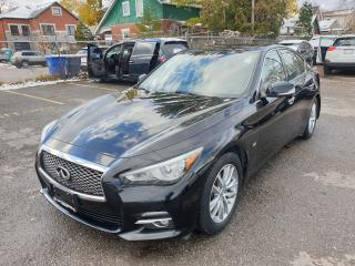 Used 2014 Infiniti Q50 Premium for sale in Brampton, ON