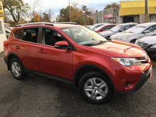 Used 2014 Toyota RAV4 LE/ AUTO/ BACK UP CAM/ BLUETOOTH/ ALLOYS & MORE! for sale in Scarborough, ON