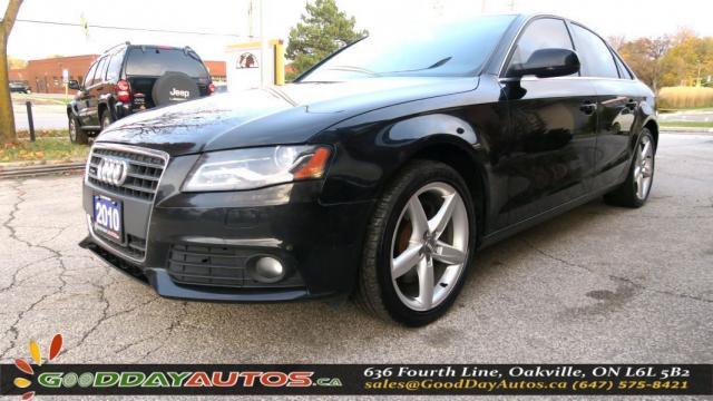 2010 Audi A4 2.0T PREMIUM|NO ACCIDENT|LEATHER|SUNROOF|CERTIFIED