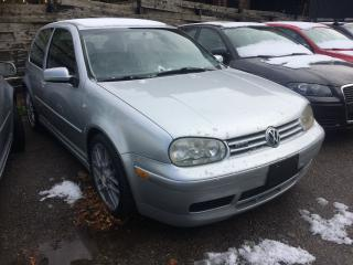 Used 2002 Volkswagen GTI 337 EDITION for sale in Toronto, ON