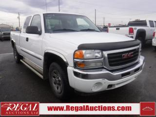Used 2006 GMC SIERRA 1500 SLE 4D EXTENDED CAB 4WD for sale in Calgary, AB