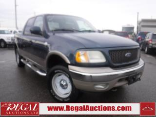 Used 2003 Ford F-150 4D SUPERCREW 4WD for sale in Calgary, AB
