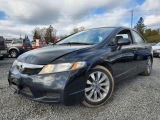Used 2009 Honda Civic EX-L SEDAN 5-SPEED M for sale in Stittsville, ON