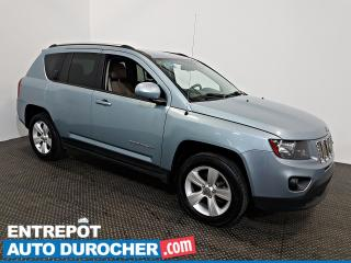 Used 2014 Jeep Compass North AWD Automatique - AIR CLIMATISÉ - Cuir for sale in Laval, QC
