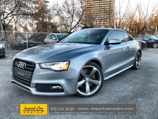Used 2016 Audi S5 3.0T Technik LEATHER  ROOF  NAVI  BLIS B&O for sale in Ottawa, ON