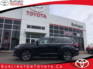 Used 2018 Toyota Highlander LIMITED  for sale in Burlington, ON