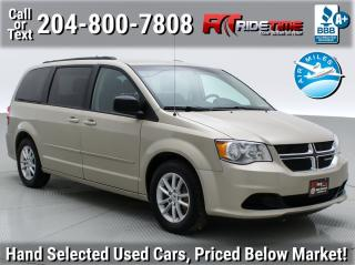 Used 2016 Dodge Grand Caravan SXT for sale in Winnipeg, MB