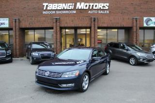 Used 2014 Volkswagen Passat NO ACCIDENTS I LEATHER I SUNROOF I KEYLESS ENTRY I CRUISE BT for sale in Mississauga, ON