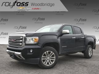 Used 2017 GMC Canyon SLT V6, 4X4, NAV, HEATED LEATHER SEATS for sale in Woodbridge, ON