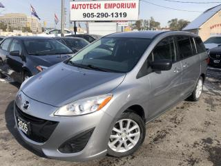 Used 2015 Mazda MAZDA5 Automatic All Power/Bluetooth/Cruise&GPS* for sale in Mississauga, ON