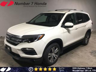 Used 2016 Honda Pilot EX-L| Navi| Auto-Start| Leather| for sale in Woodbridge, ON