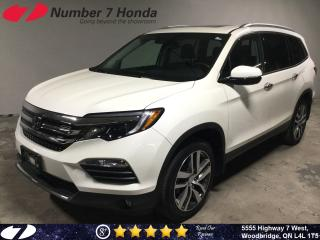 Used 2017 Honda Pilot Touring| Loaded Options| Leather| Navi| DVD| for sale in Woodbridge, ON