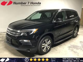 Used 2017 Honda Pilot EX-L| Auto-Start| Leather| DVD| for sale in Woodbridge, ON
