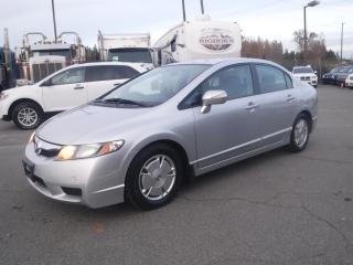 Used 2009 Honda Civic Hybrid CVT AT-PZEV for sale in Burnaby, BC