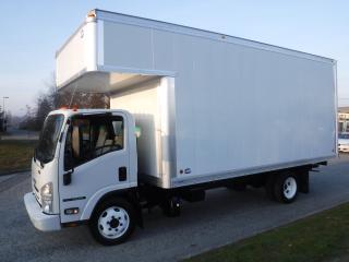 Used 2016 Isuzu NPR 18 Foot Cube Van Diesel with Ramp Plus 4 Foot Attic for sale in Burnaby, BC