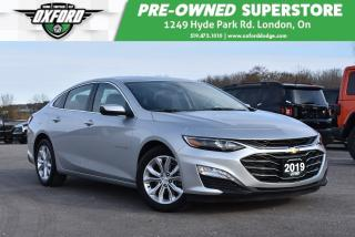Used 2019 Chevrolet Malibu LT - Bluetooth, Backup Cam, Sat Radio for sale in London, ON