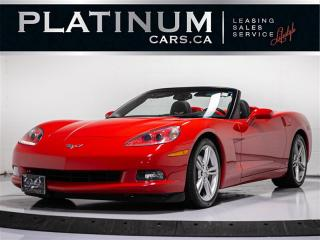 Used 2008 Chevrolet Corvette 3LT, CABRIO, CONVERTIBLE, NAV, HEADS UP, BOSE PREM for sale in Toronto, ON