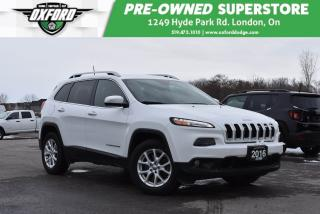 Used 2016 Jeep Cherokee North - Low Kms, Trailer Hitch, Very Clean for sale in London, ON
