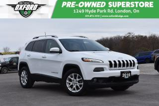 Used 2016 Jeep Cherokee North - Well Equipped, Gold Plan, Roof Rack for sale in London, ON