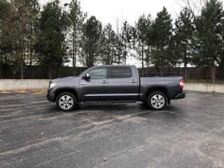 Used 2017 Toyota TUNDRA PLATINUM CREW CAB 4X4 for sale in Cayuga, ON