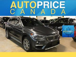 Used 2016 BMW X1 xDrive28i NAVIGATION|PANOROOF|LEATHER for sale in Mississauga, ON