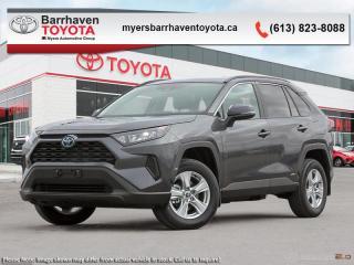 New 2019 Toyota RAV4 Hybrid LE  - Heated Seats - $258 B/W for sale in Ottawa, ON