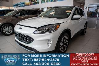 New 2020 Ford Escape SEL Panoramic Vista Roof, Ford Co-Pilot360 Assist Package, Voice-Activated Touchscreen Navigation, Adapt for sale in Okotoks, AB