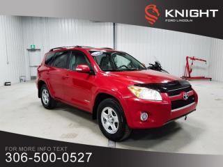 Used 2012 Toyota RAV4 LIMITED  for sale in Moose Jaw, SK