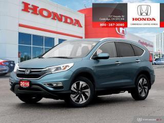 Used 2016 Honda CR-V Touring SIRIUS™ XM SATELLITE RADIO | LEATHER INTERIOR | HONDA SENSING TECHNOLOGIES for sale in Cambridge, ON
