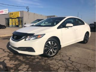 Used 2014 Honda Civic Sedan EX | Sunroof | Auto | B/Up Cam | Htd Seats for sale in St Catharines, ON