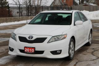 Used 2010 Toyota Camry SE MANUAL | Sunroof | Leather | CERTIFIED for sale in Waterloo, ON