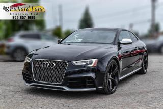 Used 2014 Audi RS 5 4.2 CARBON INTERIOR||CERTIFIED||POWERHOUSE!! for sale in Bolton, ON